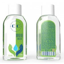 CLEAN CO Gel désinfectant pour les mains 60 ml