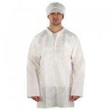 Ansell AlphaTec 1500 Plus lab coat, model 204