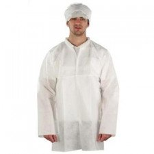Ansell AlphaTec 1500 Plus lab coat, model 206