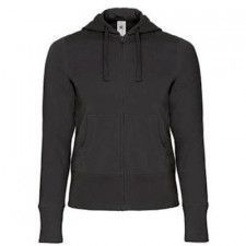 B & C Hooded Full Zip dames sweater