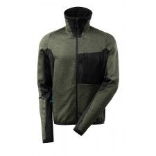 Fleece Jumper with zipper, modern fit