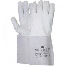 Welding gloves made of sheepskin leather