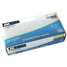 M-Safe 4140 disposable latex handschoen