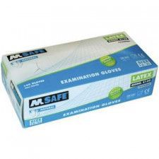 M-Safe 4160 disposable latex handschoen
