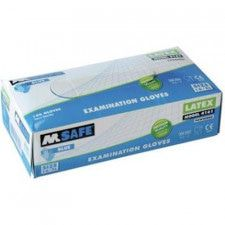 M-Safe 4161 disposable latex handschoen
