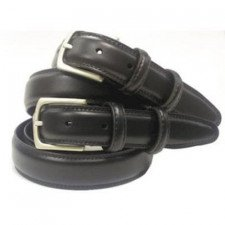 Uniform belt leather