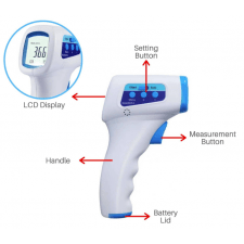 Contactless thermometer - 350 stock