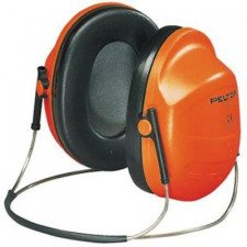 3M Peltor H31B 300 hearing cap with neck brace