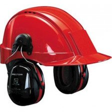 3M Peltor Optime III H540P3E hearing hood with helmet attachment