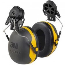 3M Peltor X2P3 earmuff with helmet attachment