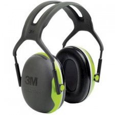3M Peltor X4A earmuff with headband