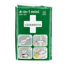 Cederroth 4-in-1 mini bloedstelpende verbanden