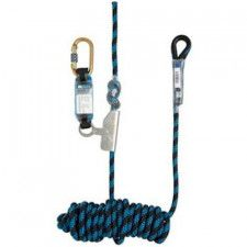M-Safe 4111 rope Grab fall stopper with shock absorber and line
