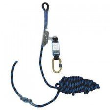 M-Safe 4112 rope Grab fall stopper with shock absorber and line