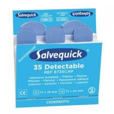 Patches detectáveis ​​Salvequick 6735CAP