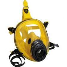 Spasciani TR 2002 CL3 yellow silicone full face mask