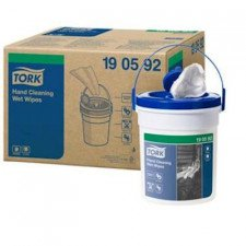 Tork Hand Cleaning toalhetes húmidos que limpam limpezas