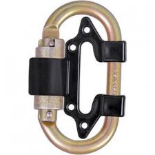 Connection hook for double connection fall arrest device 4172